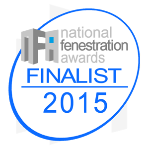 National Fenestration Awards - Best Aluminium Company 2015 - 2nd time Finalist