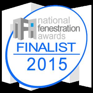 National Fenestration Awards - Best Aluminium Company 2015 - 2nd time Finalist